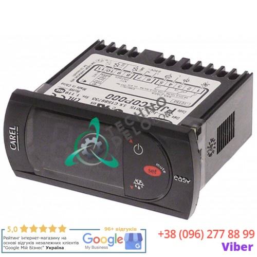 Контроллер CAREL PJEZC0P000 easy 71x29x69мм 230VAC датчик NTC IP54 -50 до +99°C для холодильных камер HoReCa и др.