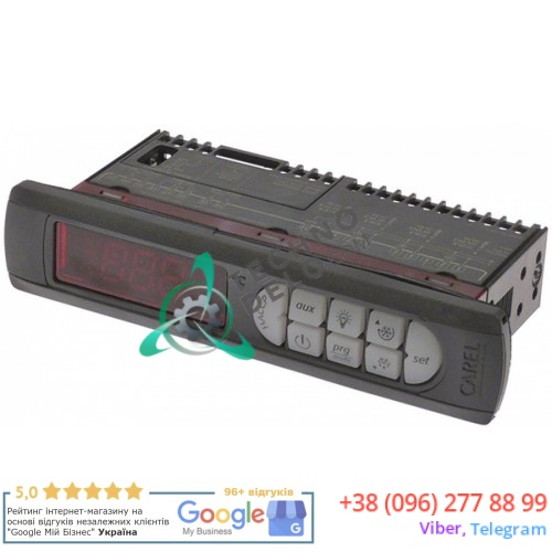 Контроллер CAREL PB00F0HA00 138,5x29x70,5мм 115-230 VAC датчик NTC -50 до +99 °C для холодильного оборудования