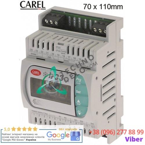 Контроллер CAREL DN33S0HA00 ir33 70x110x60мм 115-230VAC IP40 датчик NTC -50 до +99°C для холодильного оборудования