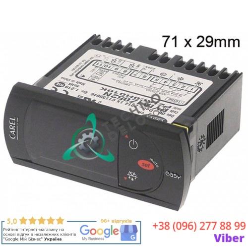 Контроллер CAREL PZIAC0H010K 71x29x59 мм 230 VAC -40 до +99°C IP65 датчик NTC 418235641000 для ISA TASSELLI и др.