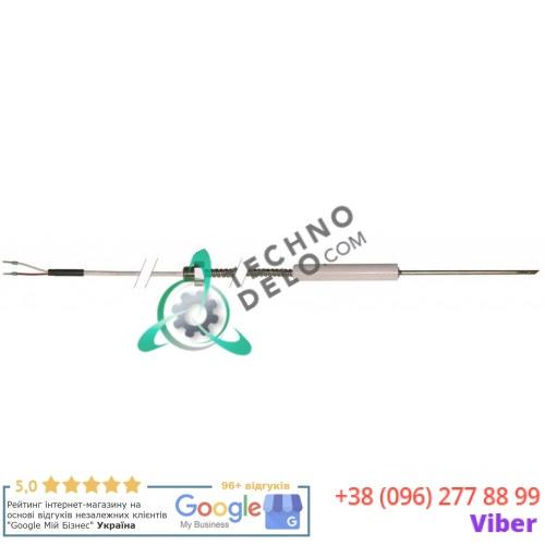 Термощуп Pt100 ø4x100мм 1/4 -40 до +250°C кабель L-2,5м для печи Wiesheu Wiwa и др.
