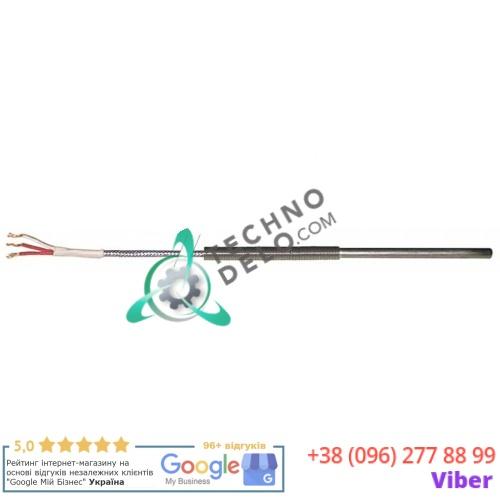 Датчик температурный EVCO ECSND1443A EVTPC830V300 Pt100 ø6x85мм кабель Vetrotex 24076500 для Bertos, Giorik