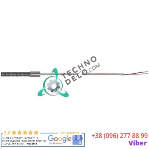 Датчик температурный Pt100 ø5x30мм M5 кабель PTFE L-2м 161608 для Küppersbusch, Bertos и др.