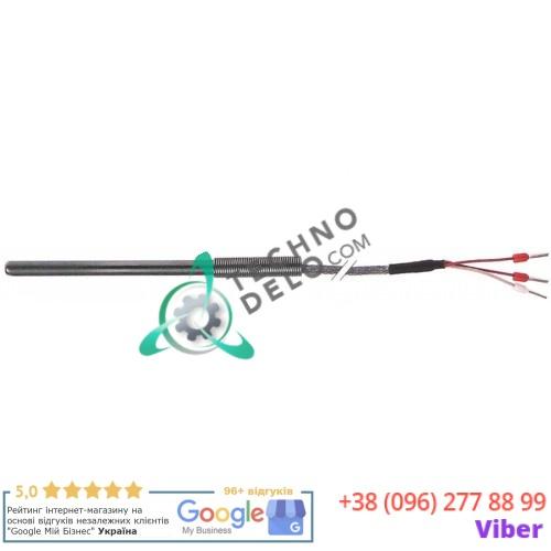Датчик температурный Pt100 ø6x100мм -200 до +600°C кабель Vetrotex для профессионального теплового оборудования