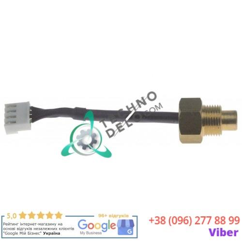 "Датчик температурный NTC ø12x8мм резьба 3/8"" кабель силикон 0,5м 08370500 для Quality Espresso Futurmat"