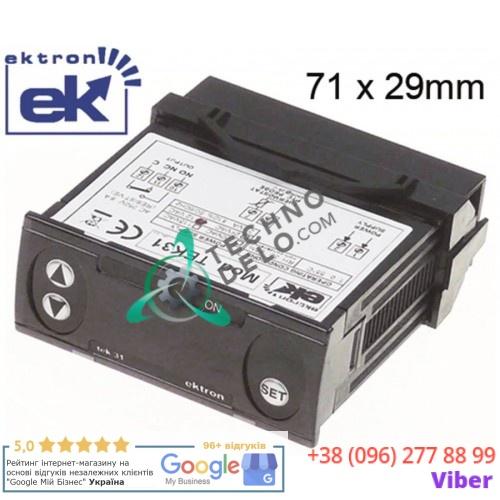 Контроллер Ektron TEK31-0010 71x29мм 12VAC/VDC датчик PTC -50 до +120°C для профессионального оборудования HoReCa