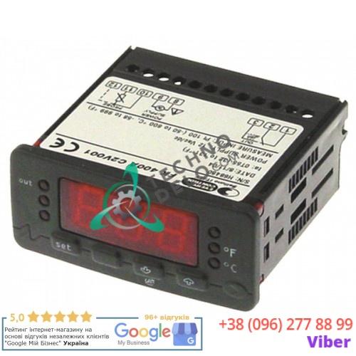 Контроллер EVCO FK401A 71x29мм 12VAC Pt100/TC (J,K,S) IP54 25982800 для духового шкафа Bertos FME06M и др.