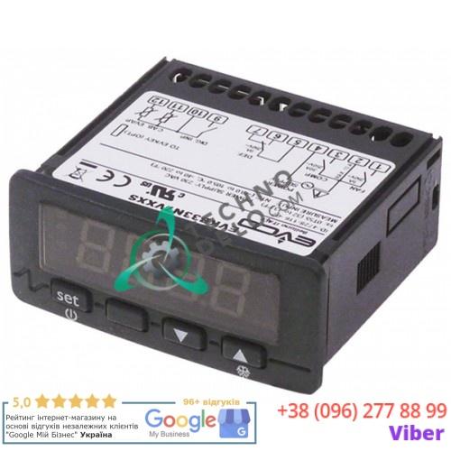 Контроллер EVCO EVKB33N7VXXS 71x29мм 230VAC датчик NTC 3 реле -40 до +105°C 61214 для Everlasting и др.