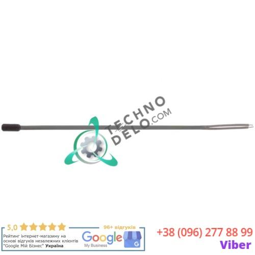 Датчик температурный PTC 1ком кабель термопласт датчик ø6x14мм -50 до +150°C длина 1,5м 2-х жилистый