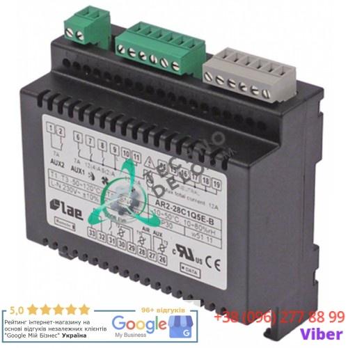 Регулятор электронный LAE BR1-28C1S5W-B диапазон измерений -50 до +120 °C