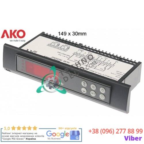 Контроллер AKO 10323 149x30мм 230VAC -50 до +99°C датчик NTC