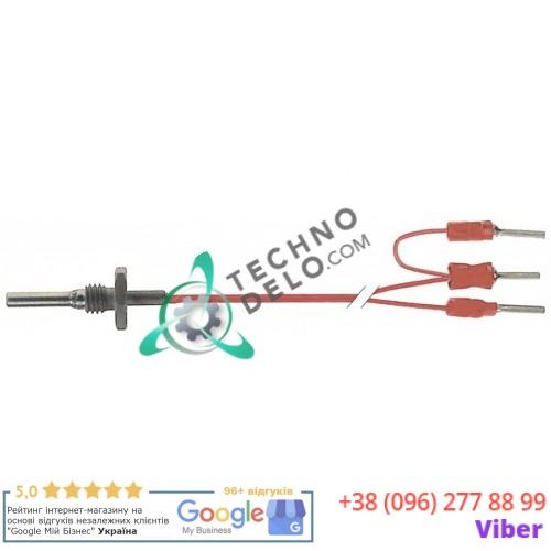 Датчик температурный Pt100 ø4x20мм кабель PTFE L-1,5м M8 058953 для печи Electrolux, Zanussi