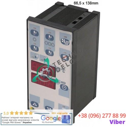 Контроллер EVCO EK820AP7 66,5x138мм IP65 230VAC 4 реле датчик PTC для камеры шоковой заморозки и др.