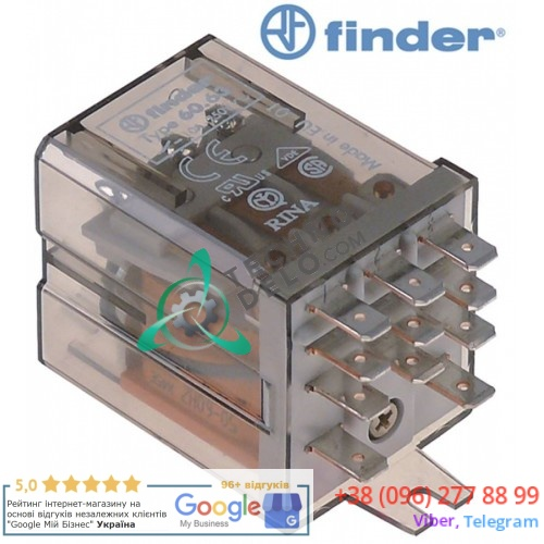 Реле FINDER 230VAC 10A 3CO 60.63.8.230.0000 Simag, Zanussi, Bartscher, Brema и др. / 0229023 0229024