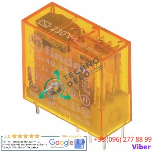 Реле Finder 40.52.8.230.0000 цоколь 95.65/95.75 230VAC 2CO 8A 0E5849 для Ambach, Angelo-Po, Electrolux и др.