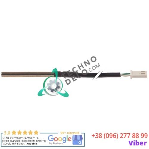 Датчик ø5x50мм NTC 10kOhm кабель PVC L-1.2м 33580298 для Electrolux, Icematic, Scotsman, Simag и др.