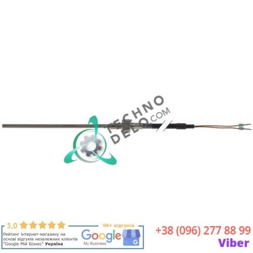 Датчик температурный Pt100 ø4x100мм -100 до +450°C M6 кабель L-1,5м 3014.0151 для печи Rational CM62 и др.