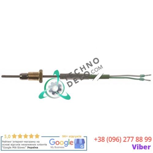 Датчик температурный ø2x40мм K (NiCr-Ni) -50 до +1150°C кабель L-2,6м 3014.0161 для печи Rational CPC61 и др.