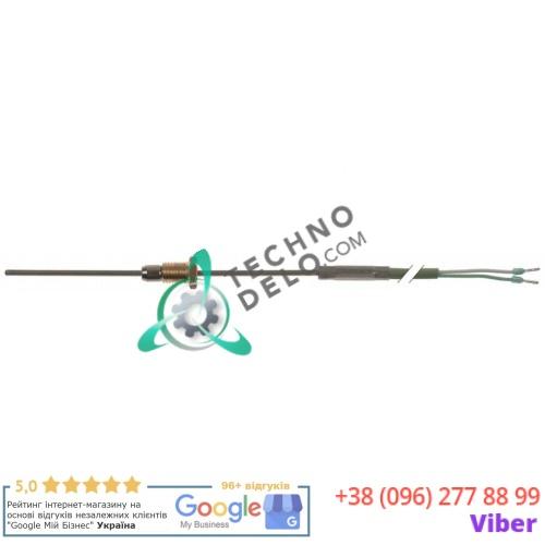 Датчик температурный K (NiCr-Ni) ø2x100мм кабель силикон L-1,8м 3014.1001 / 3014.1002 для печи Rational и др.