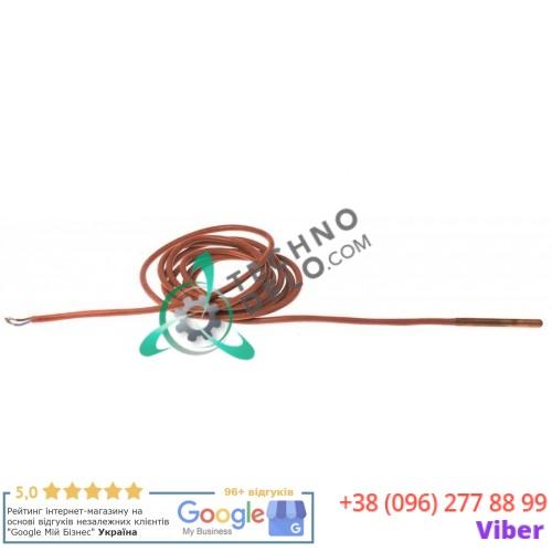 Датчик температурный PTC 1ком ø6x60мм кабель силикон L-2,4м 120913 для Comenda FC543E, FC543EA и др.
