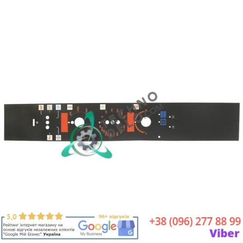 Стикер 003832 обозначения кнопок панели управления пароконвектомата Electrolux FCV/E101/2, Zanussi ACV/E20C4 и др.