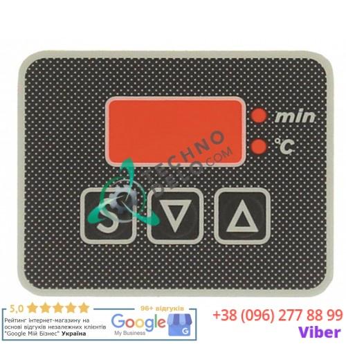 Стикер 0K2637 обозначения кнопок панели управления теплового оборудования Electrolux 7502-3/85, 7508-3/85 и др.