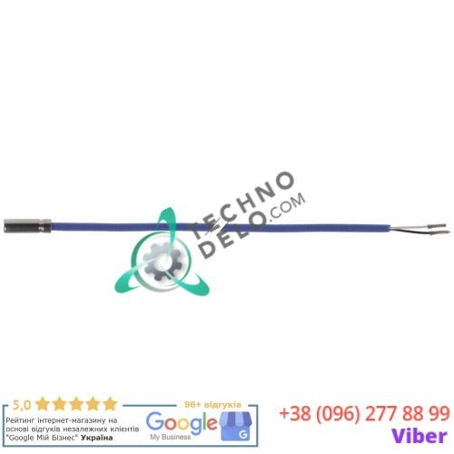 Датчик температурный NTC 10kOhm ø6x20мм кабель силикон L-2м 087654 / 092174 для Electrolux, Zanussi и др.