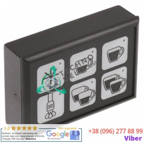 Панель управления Gicar 88x60мм 5031011 для кофемашины BFC Classica/Junior, Royal