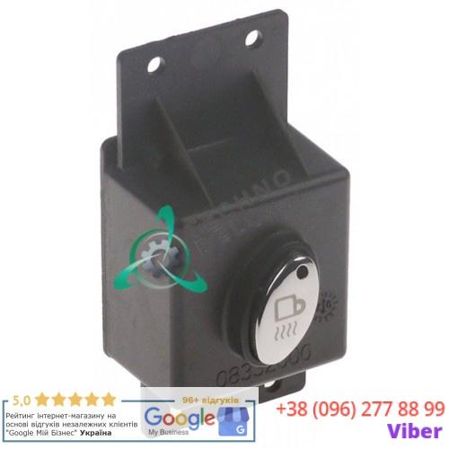Панель управления 1 кнопка корпус 50x46мм 08332600 для профессиональной кофемашины Quality Espresso Futurmat и др.