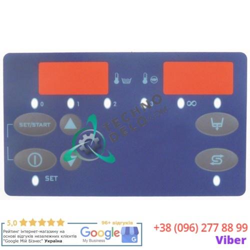 Стикер 134x79мм 6 кнопок DW50578 для панели управления Dihr, Kromo, Olis и др.