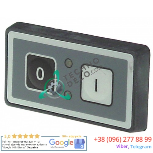 Панель управления 2 кнопки корпус 70x40мм провод L-200мм выпуск с 1998г. I1682 для слайсера (ломтерезки) Omas