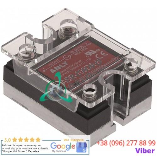 Реле твердотельное Anly ASR-100DA-H 1 фаза 100A 48-480V/4-32VDC 47,5x43мм для оборудования HoReCa и др.