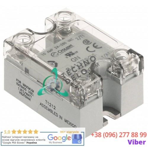 Реле твердотельное Crouzet 24-280В 10А тип 84137001 к оборудованию MKN и др.