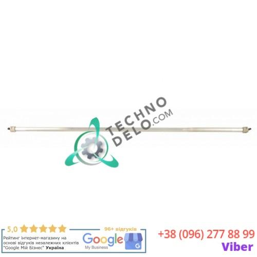 Нагреватель кварцевый 400Вт 57,5В L633мм ø10мм TUR00026022 для Turbo IME CT118/CT128/4200