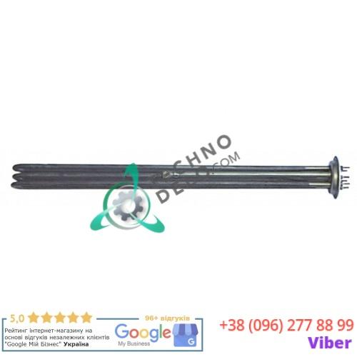 Тэн (15000Вт 230В) 530x45x30мм M4 трубка d-8,5мм для печи Ambach, Falcon, Lainox, Mareno, Olis и др.