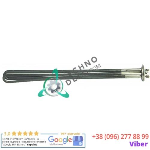 Тэн (12000Вт 230В) 510x34x33мм погружной нагреватель трубка d-8,5мм 181737 182684 для печи Küppersbusch CBE120 и др.