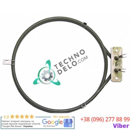 Тэн 2500Вт 230В 004934 RES006 RES036 для печей Bartscher, Garbin, Apach и др. / универсальный