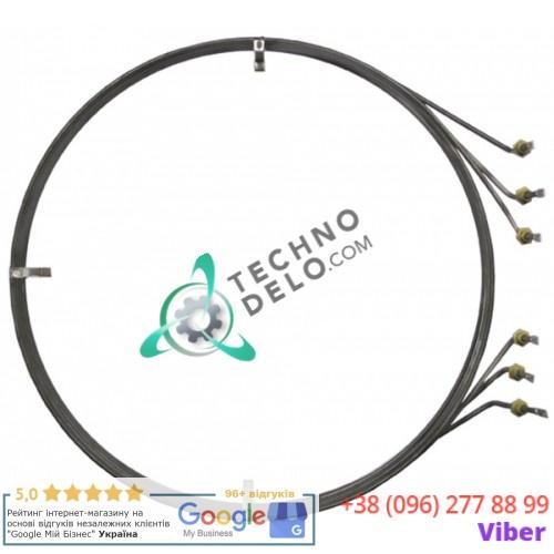 Тэн (12000Вт 220В) ø558мм/ø572мм L-610мм H-85мм 5007043 для пароконвектомата Convotherm OS10.20