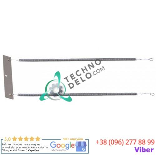 Спираль нагревательная двойная 1000Вт 230В 245x120мм для кварцевой трубки 2524 603 профессионального тостера Aristarco 2P/3P/6P/EXPO2P/FORNO