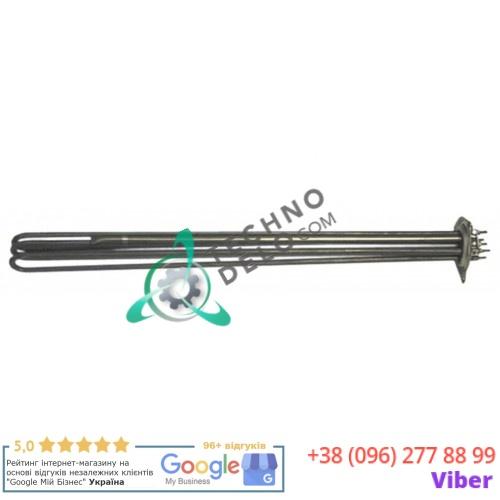 Тэн (10500Вт 230В) 590x30x40мм трубка d-8,5мм монтажный диаметр 57,5мм M4  2293200360 для печи ERRE2, Gico и др.