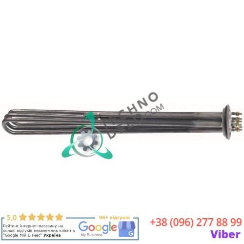 Тэн (12000Вт 230/400В) 510x37x48мм M5 погружной нагреватель 905720 TR0330 TR0342 для Silanos, Whirlpool и др.