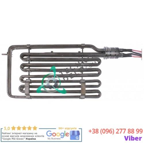 Тэн (15000Вт 230/400В) 355x190x32мм провод L-570мм Y14400 для фритюрницы GIGA KFE20, KFE20D, OPFE20 и др.