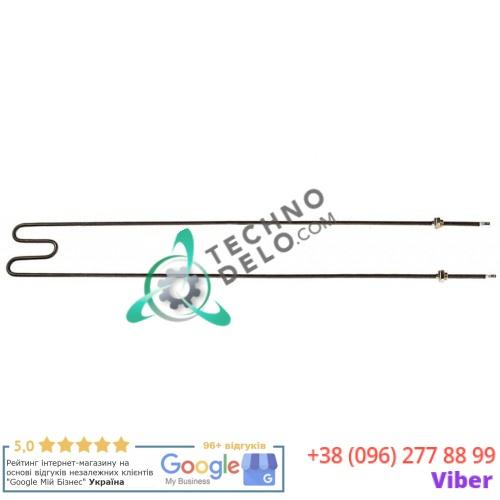 Тэн (1100Вт 400В) 884x125мм резьба 3/8 трубка d-8,5мм 373500030 EE110 EE11000 для пицца-печи OEM MF-10/MF-5 и др.