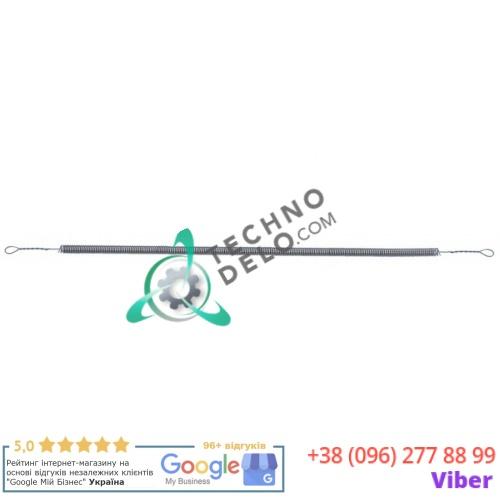 Спираль нагревательная 700Вт 110В L-510/460мм ø6мм IGS402SF для кварцевой трубки гриля Sirman Salamandra Fissa/Basic