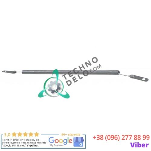 Спираль нагревательная L-260мм/165мм ø6.5мм CO1019 D01025 для кварцевой трубки тостера Roller Grill, Fimar, Sirman и др.