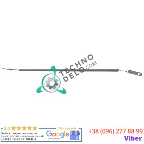 Спираль нагревательная 250Вт 220-240В для кварцевой трубки L-320мм/220мм ø4.5мм D01026 D01054 печи для пиццы Roller Grill PZ 660