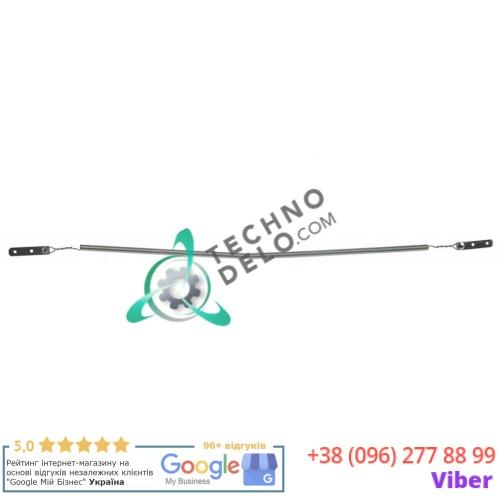 Спираль нагревательная 100Вт 75В 11.5ом L-470мм/370мм D01035 для кварцевой трубки профессионального тостера Roller Grill RST127/RST227