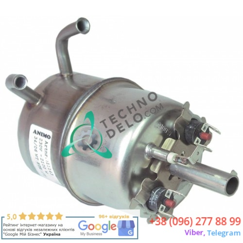 Нагреватель проточный 2100Вт 230В ø74мм 11143 для кофемашины Animo A100/A200/TA100 и др.