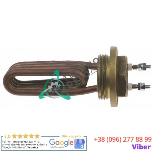 Тэн (1300Вт 220В) резьба 1¼ трубка d-6,5мм M4 погружной нагреватель 5050009 для BFC Junior/Lira/Perfetta, Royal