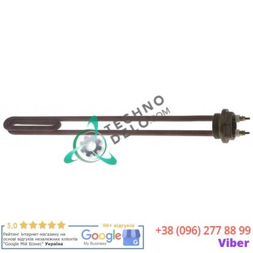 Тэн (1400Вт 220В) 430x36x32мм трубка d-9,8мм M4 LR36522003 погружной нагреватель для La Marzocco и др.